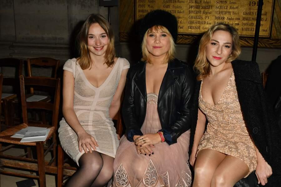 Fashion Week Haute Couture : Déborah François, Bérengere Krief et Marilou Berry