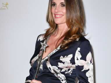 Sophie Thalmann, Miss France 1998, enceinte de son troisième enfant