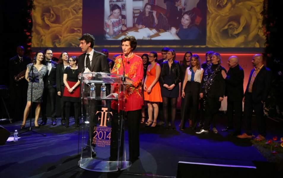 Sabine Chabbert et Thomas Misrachi décernent le prix des Experts