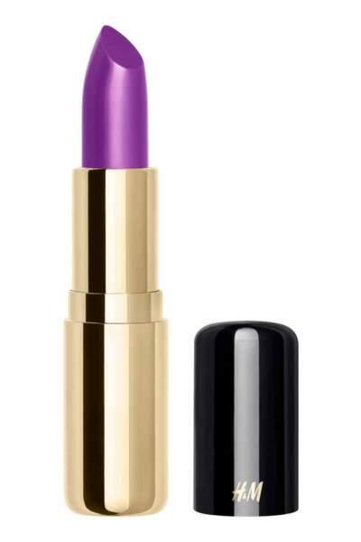 Ultra-Violet : Rouge à lèvres mat, Ultra Violet, H&M Beauty 9,99 euros