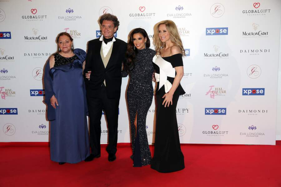Global Gift Gala 2019 : La famille Seyres de Rothschild a pris la pose avec Eva Longoria