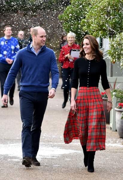 Kate et William toujours aussi complices