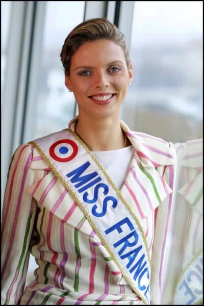 Sylvie Tellier qui était donc à l'époque le sosie de Charlène de Monaco