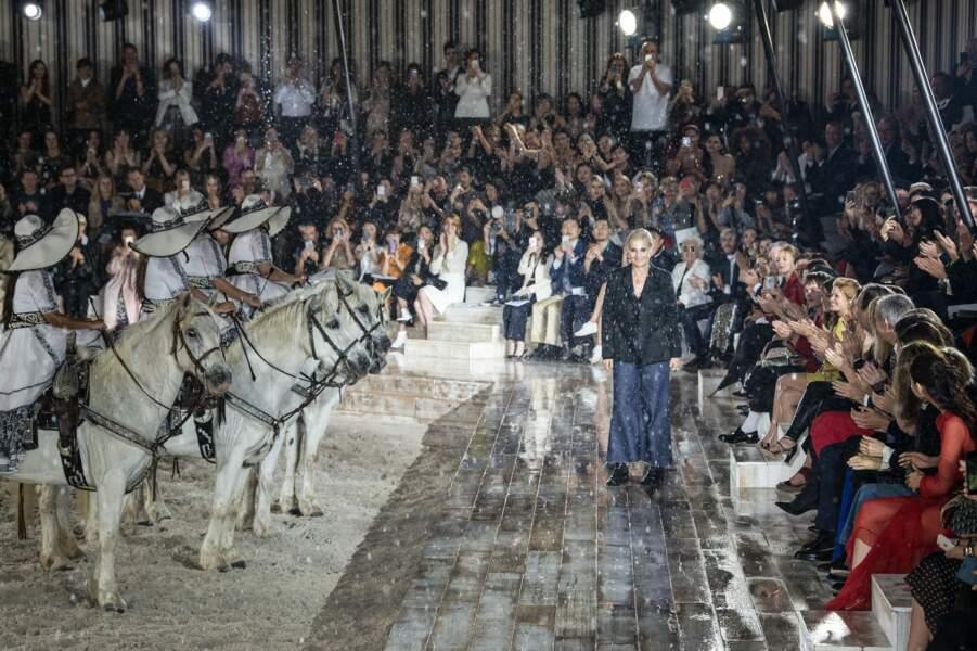 Le défilé Christian Dior Croisière dans les écuries du Château de Chantilly