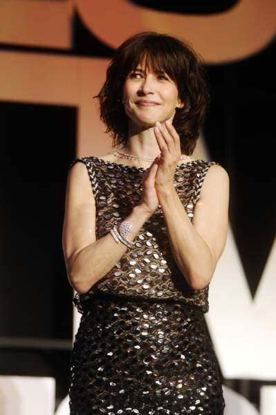 Et ceci est sa tenue pour l'ouverture officielle du Festival de Cannes