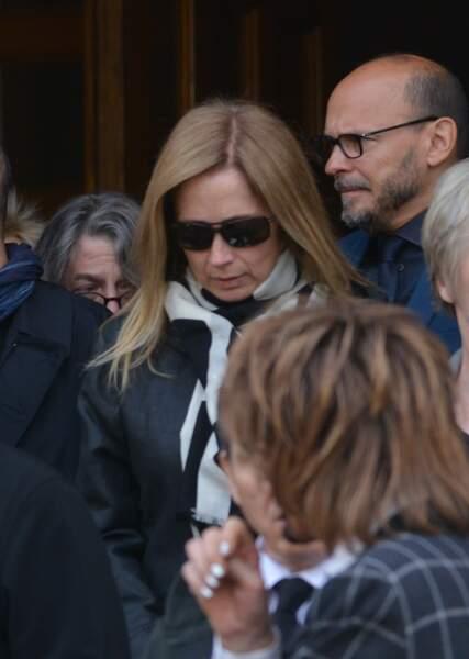 Obsèques de Maurane à Woluwe-Saint-Pierre en Belgique : Lara Fabian