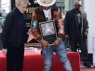 Pharrell Williams a inauguré son étoile sur Hollywood Boulevard