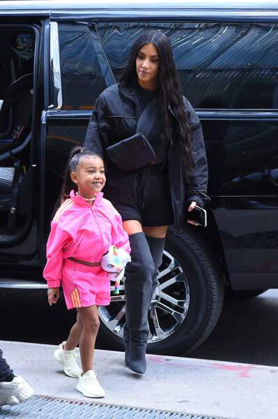 Kim Kardashian avec North West