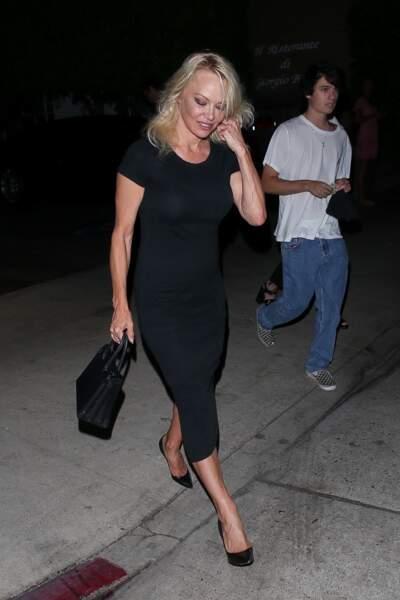 Pamela Anderson Brandon Lee et Dylan Lee vont dîner ensemble