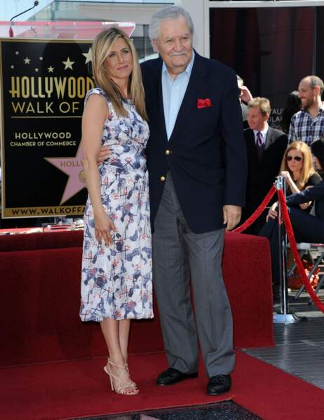 Jennifer Aniston et son papa