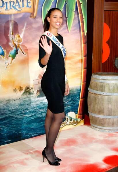 Flora Coquerel à l'avant-première de Clochette et la fée pirate
