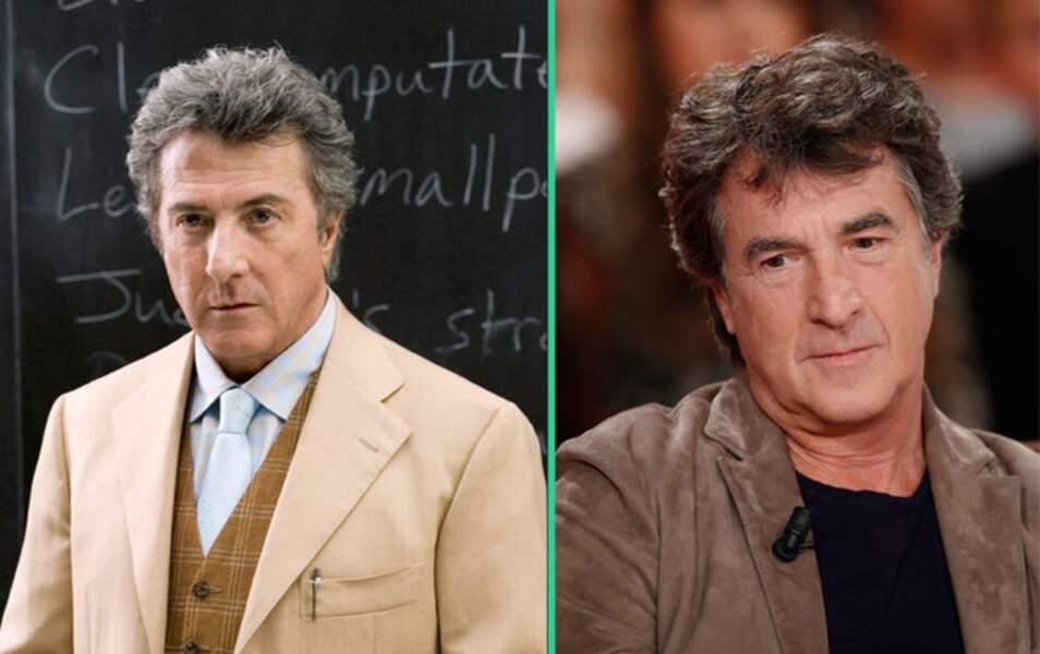 Dustin Hoffman et François Cluzet