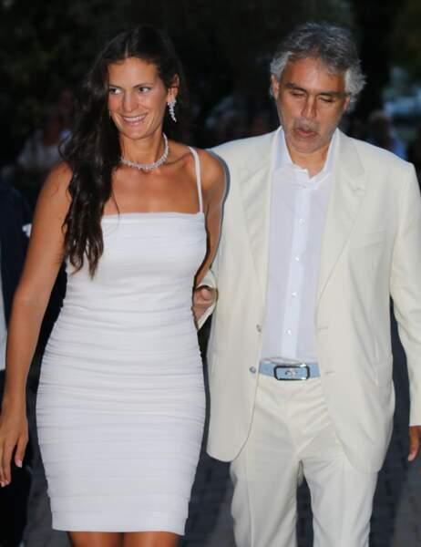 Andrea Bocelli et Veronica Berti