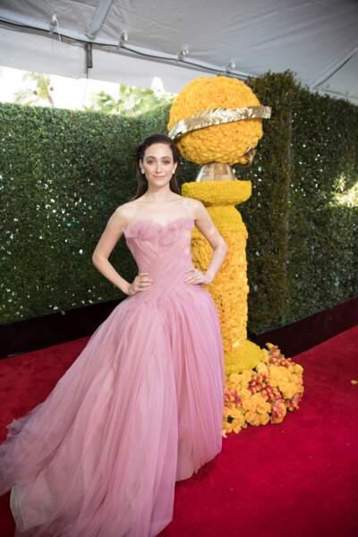 76ème cérémonie des Golden Globes : Emmy Rossum
