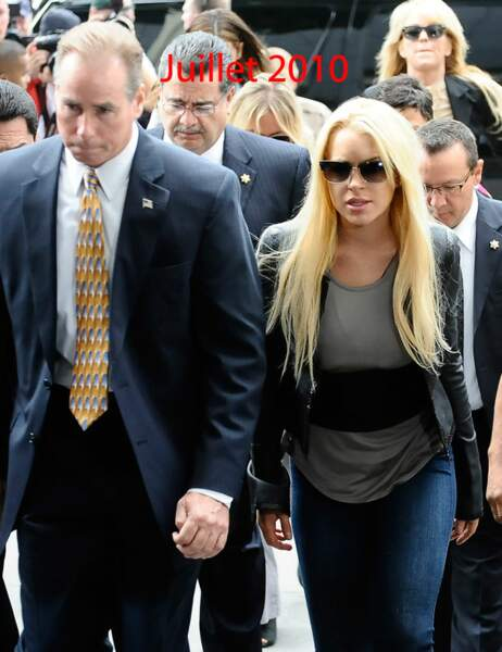 Lindsay Lohan juillet 2010