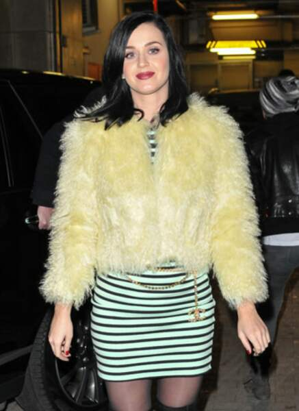 Katy Perry (Palme d'or du pire look d'hiver)
