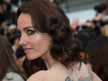 VOICI - Le message de Sand Van Roy sur le tapis rouge du Festival de Cannes