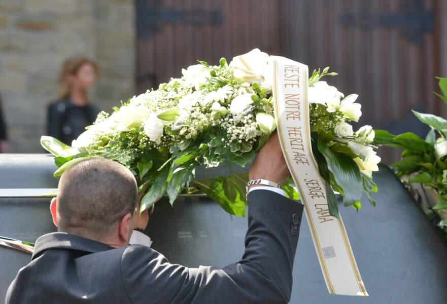 Obsèques de Maurane à Woluwe-Saint-Pierre en Belgique : les fleurs envoyées par Serge Lama