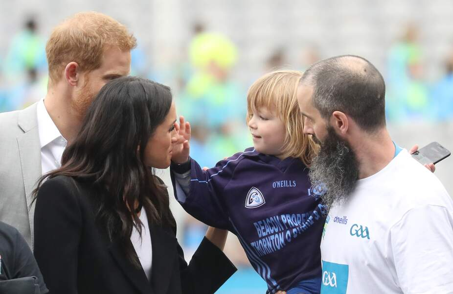 Le prince Harry et Meghan Markle, à Dublin, le 11 juillet 2018