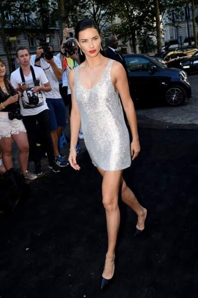 Dîner Vogue : Adriana Lima