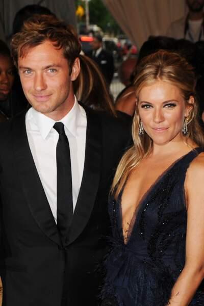 Jude Law et Sienna Miller