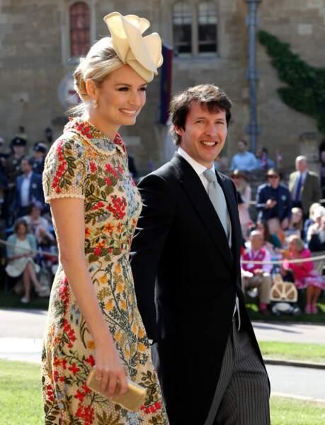 James Blunt et son épouse Sofia Wellesley