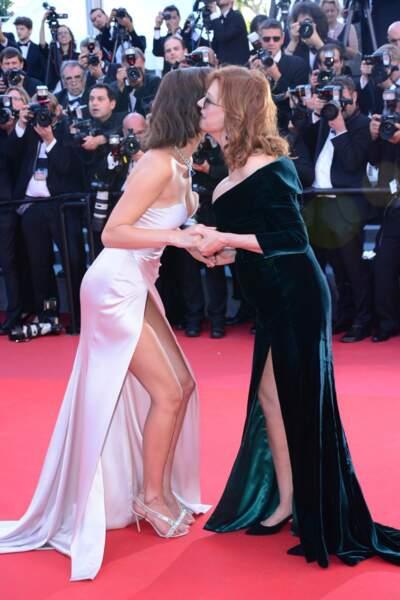 Festival de Cannes 2017 : Bella Hadid n'a semble-t-il pas encore retenu la leçon