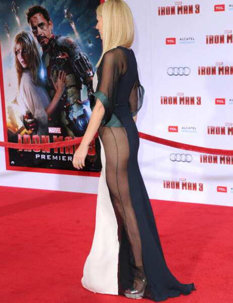 Gwyneth paltrow en promotion pour Iron Man 3