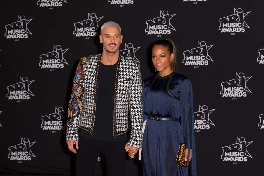 M Pokora et Christina Milian aux NRJ Music Awards 2017