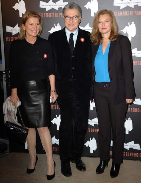 Sophie Seydoux, Valérie Trierweiler et Serge Toubiana