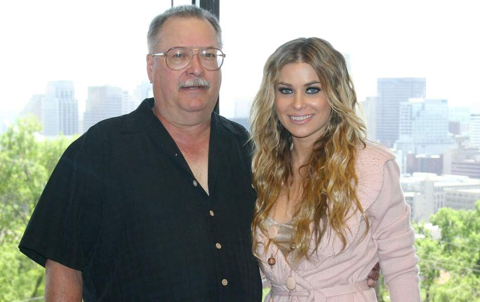 Carmen Electra et son papa