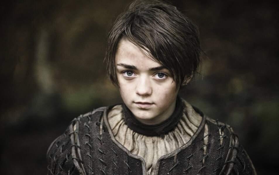 … et Arya Stark étaient au festival de Glastonbury