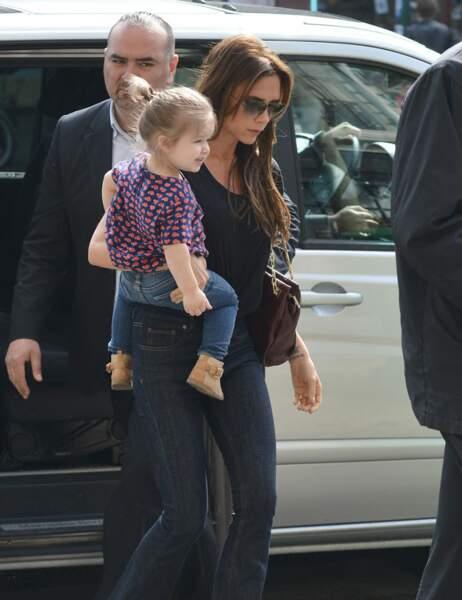 Victoria Beckham et Harper