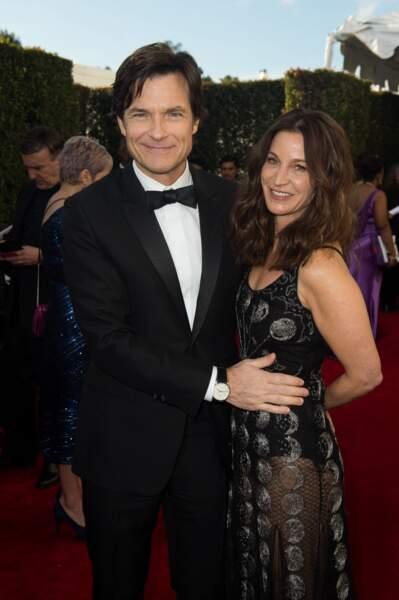 76ème cérémonie des Golden Globes : Jason Bateman et Amanda Anka