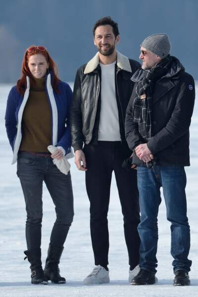 Audrey Fleurot, Olivier Coursier (AaRON) et Jean-Paul Rouve