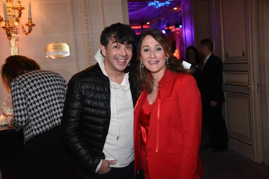 Gala Les Stethos D'Or 2018 : Stéphane Plaza et Daniela Lumbroso