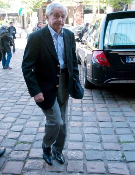 Le journaliste Ivan Levaï, l'ex-mari d'Anne Sinclair
