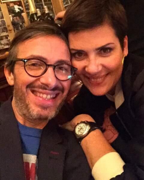 Florian Gazan et Cristina Cordula