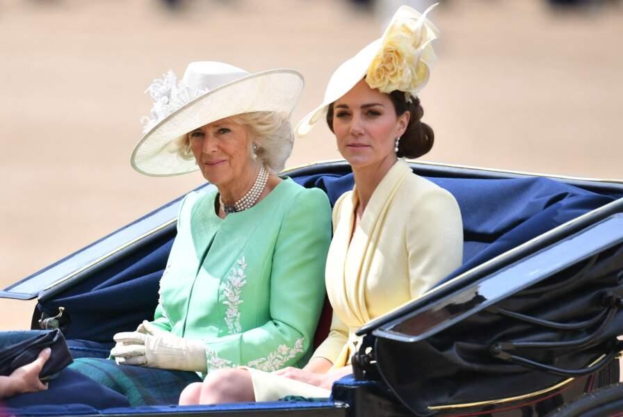 Camille Parker Bowles et Kate Middleton