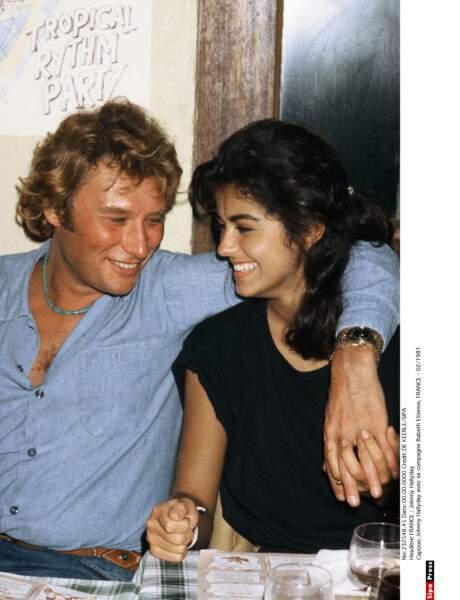1981 : Johnny Hallyday et Babeth divorcent deux mois et deux jours après leur mariage