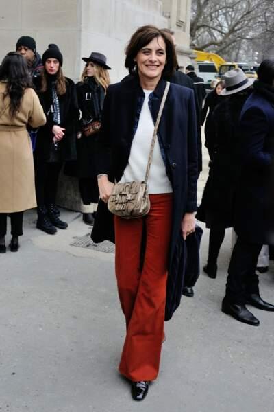 Défilé Chanel Haute Couture : Inès de la Fressange