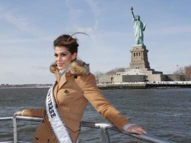Iris Mittenaere visite New York en compagnie de Miss USA
