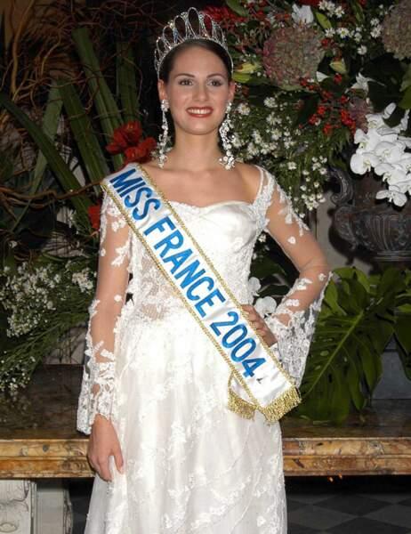 Miss France 2004: Laetitia Bléger