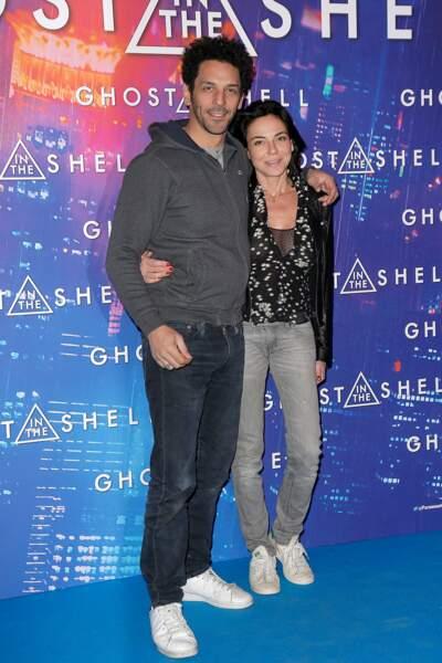 Avant-première de Ghost in the Shell : Tomer Sisley et Sandra Zeitoun de Matteis