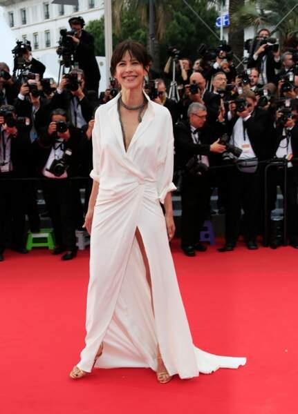C'est cette robe qui a trahi Sophie Marceau et permis au monde de voir sa culotte