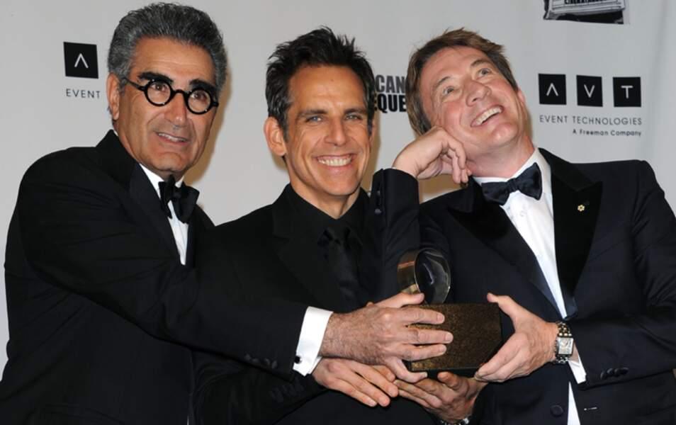 Eugene Levy, Ben Stiller et Martin Short