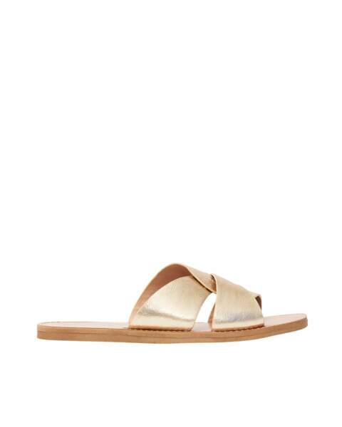 San Marina. Sandales en cuir, 59 €