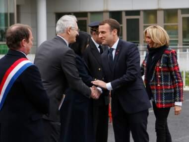 Brigitte et Emmanuel Macron en visite dans un hôpital pour la journée mondiale de lutte contre le sida
