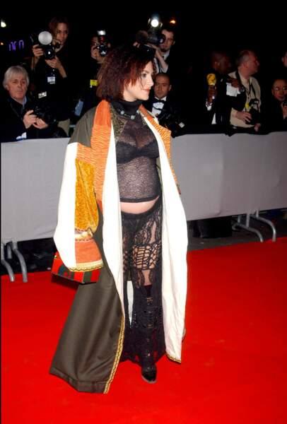 Lio à la 28e cérémonie des César en 2003