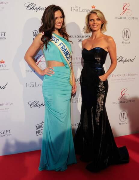 Marine Lorphelin et Sylvie Tellier